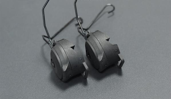 Montaż do ochronników słuchu FMA - czarny