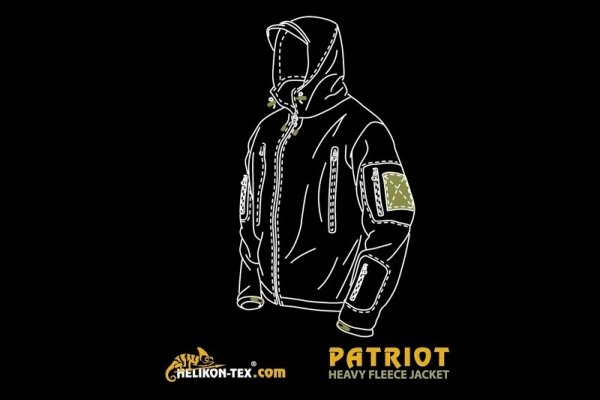 Bluza polarowa Patriot - czarna