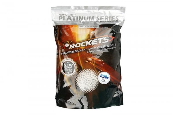 Rockets - Kulki Platinum 0,25g 1kg