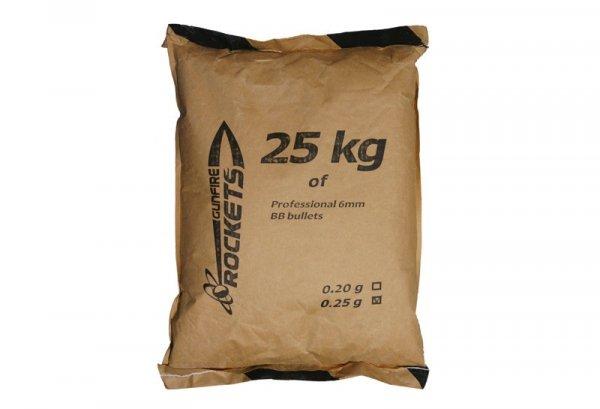 Rockets - Kulki BIO 0,25g 25kg