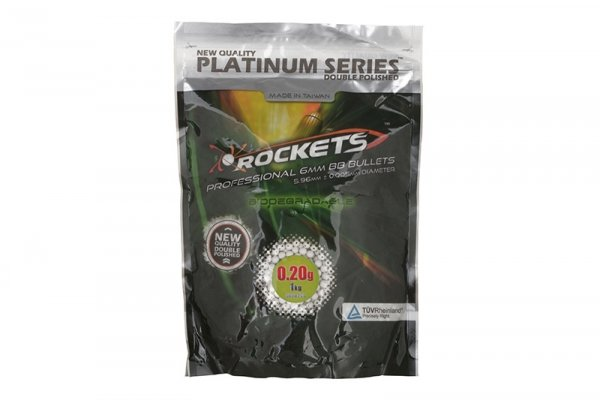 Rockets - Kulki Platinum BIO 0,20g 1kg