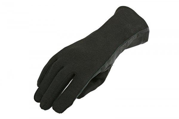 Rękawice taktyczne Armored Claw Nomex - czarne