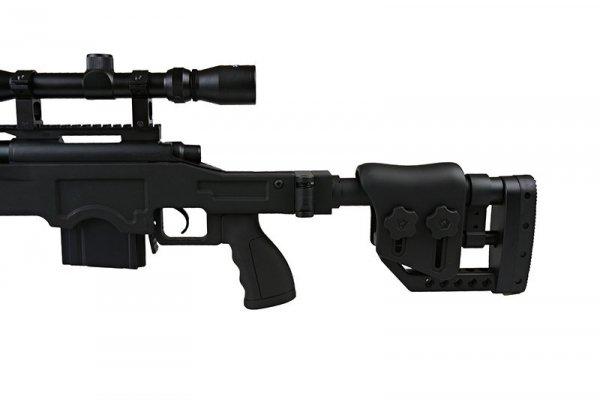 Well - Replika karabinu snajperskiego MB4411D UPV - z lunetą i dwójnogiem