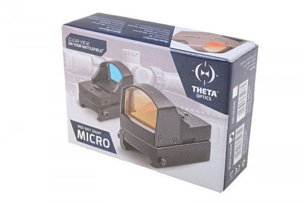 Theta - Replika kolimatora Micro - czarny