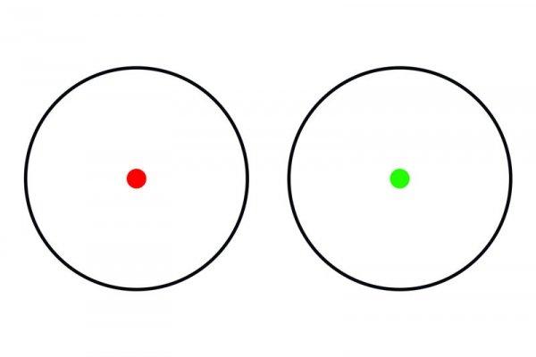 Theta - Kolimator Red Dot 1x40 - czarny