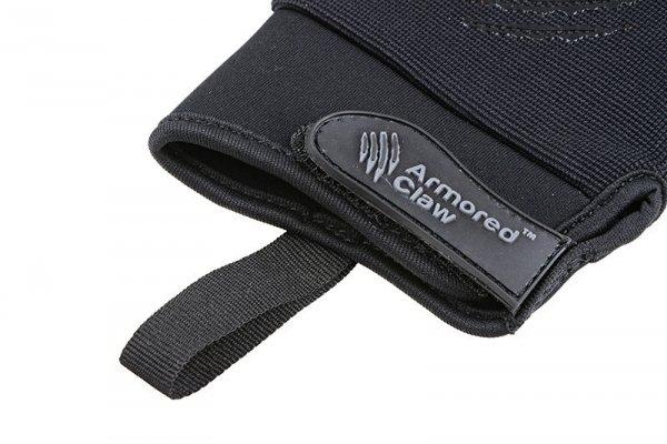 Rękawice taktyczne Armored Claw CovertPro - czarne