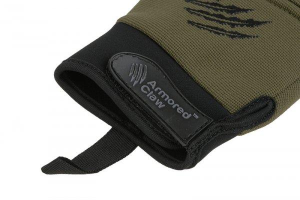 Rękawice taktyczne Armored Claw CovertPro - oliwkowe