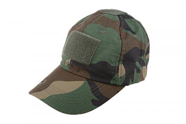 Taktyczna czapka z daszkiem - woodland