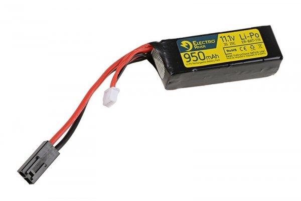 ElectroRiver - Akumulator LiPo 11,1V 950mAh 25C