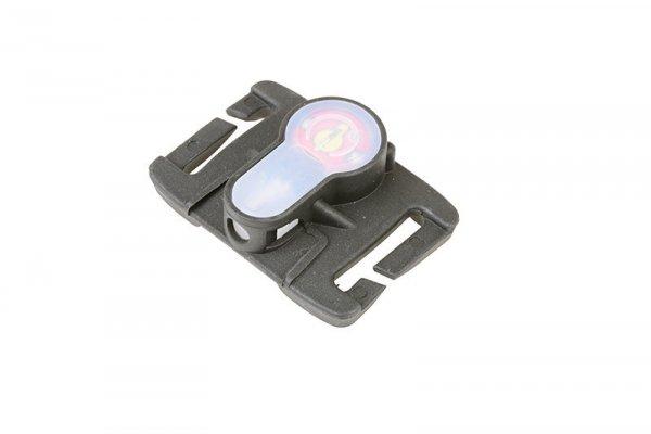 Marker elektroniczny Lightbuck MOLLE - czarny (czerwone światło)