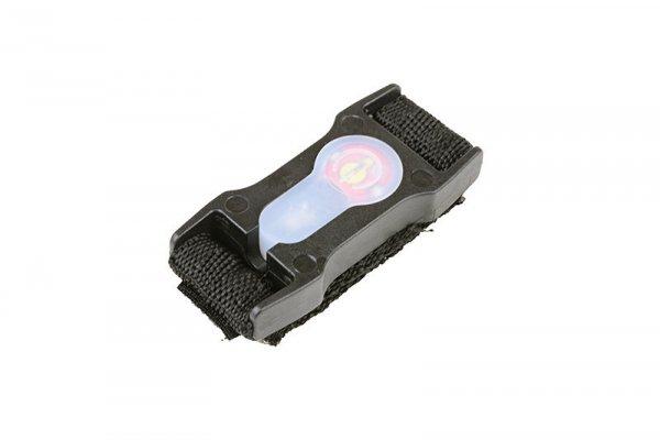 Marker elektroniczny Lightbuck Split-Bar - czarny (czerwone światło)