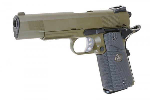 WE - Replika Colt MEU SOCOM - Olive