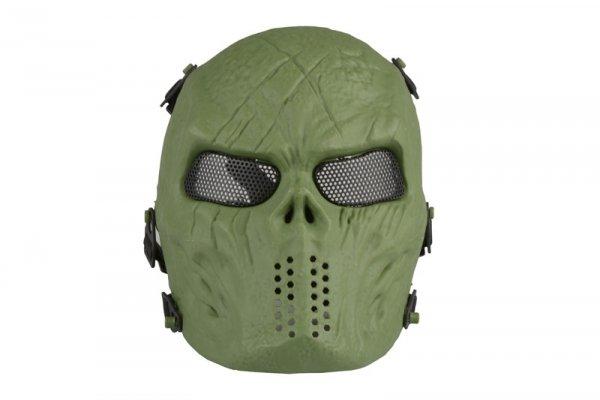 Maska Tactical Skull - olive