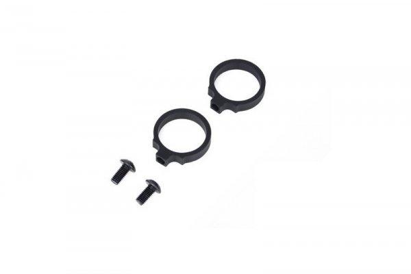 """Pierścienie montażowe w std. LaRue (0.830""""), 2 szt. - czarny"""