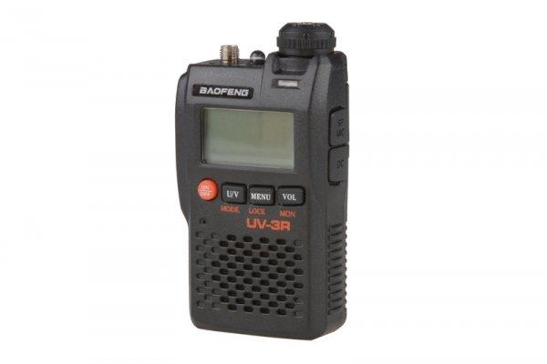 Ręczna, dwukanałowa radiostacja UV-3R (VHF / UHF), 2W