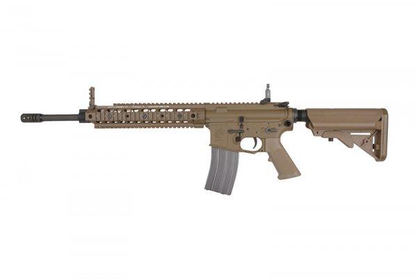 Replika karabinka Knight's Armament SR15 E3 IWS - Tan