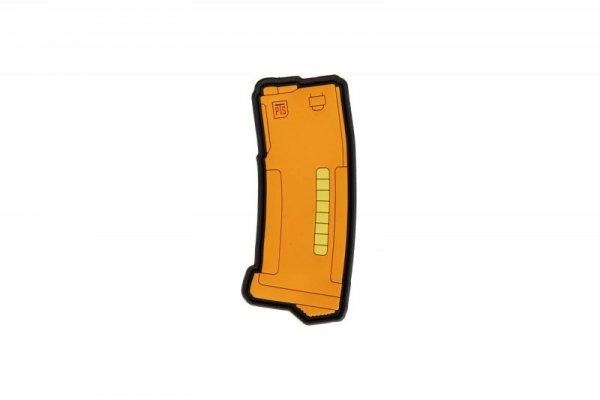 Naszywka 3D EPM PVC - pomarańczowa