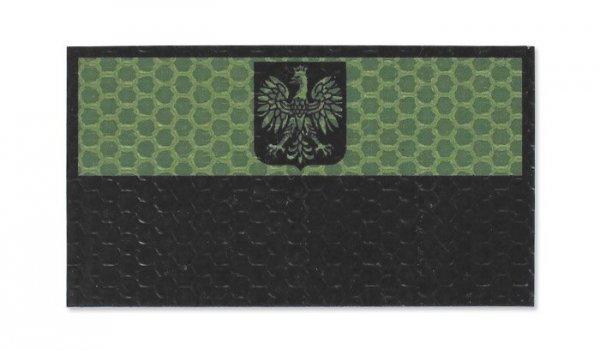 Combat-ID - Naszywka Polska - Duża - OD - Bez napisu - Gen I - A2