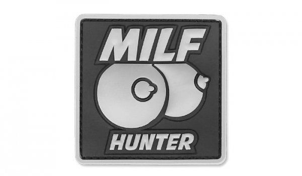 101 Inc. - Naszywka 3D - MILF Hunter - Szary