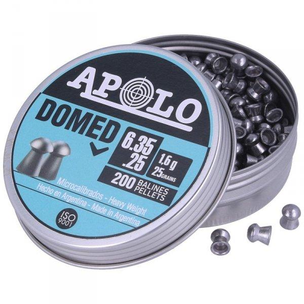Apolo - Śrut Premium Domed 6,35mm/200szt. (E 13501)