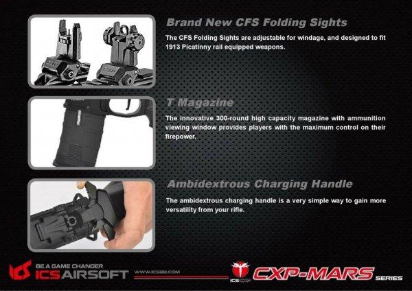 ICS - Replika CXP-MARS Carbine - TAN
