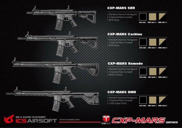 ICS - Replika CXP-MARS SBR - TAN