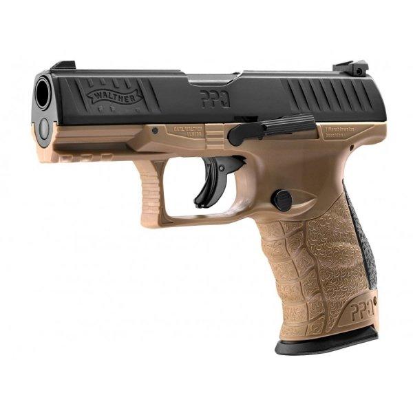 Umarex - Pistolet RAM CO2 Walther PPQ M2 T4E .43 (2.4762) FDE