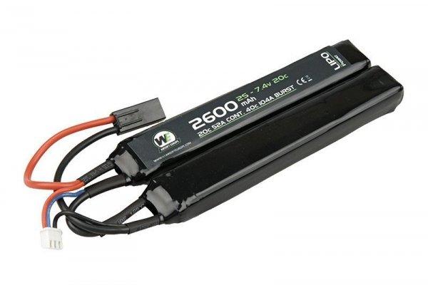 Nuprol - Akumulator LiPo 7,4V 2600mAh 20C