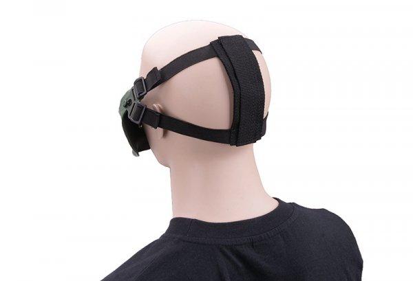 Maska Ultimate Tactical Mortus V2 - olive