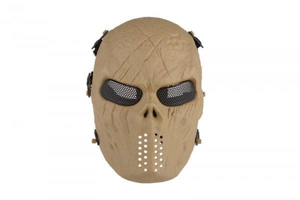 Maska Tactical Skull - Tan
