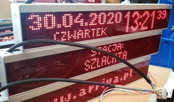 Tablica LED XTL 16x120 - Produkt kolekcjonerski