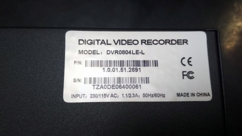 Rejestrator BCS 0804 LE-L 8 kanałowy DVR - Produkt kolekcjonerski