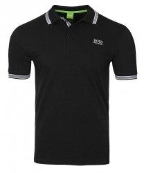 Hugo Boss koszulka polo polówka męska czarna