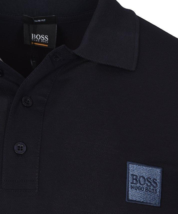 Hugo Boss koszulka polo męska granat