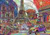 Puzzle 1000 Trefl 10524 Kolory Paryża