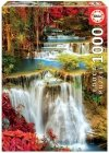 Puzzle 1000 Educa 18461 Wodospad w Głębi Lasu