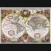 Puzzle 2000 Trefl 27095 Mapa Ziemi 1630
