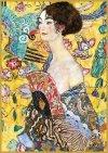 Puzzle 1000 Piatnik P-5527 Klimt - Dama z Wachlarzem
