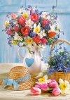 Puzzle 500 Castorland B-53520 Wiosenne Kwiaty