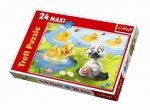 Puzzle 24 Maxi Trefl 14128 Brzydkie Kaczątko
