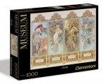 Puzzle 1000 Clementoni 39177 Muzeum Cztery Pory Roku -  Mucha