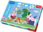 Puzzle 24 Maxi Trefl 14157 Świnka Peepa - Uczta