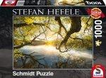 Puzzle 1000 Schmidt 59383 Stefan Hefele - Promyk Słońca