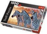 Puzzle 1500 Trefl 26129 Zebry