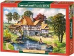 Puzzle 2000 Castorland C-200498 Copy of Water Mill Cottage