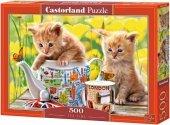 Puzzle 500 Castorland B-52356 Dwa Kotki