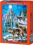 Puzzle 1500 Castorland C-151141 Wilki - Wolves and Castle