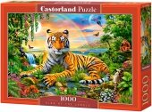 Puzzle 1000 Castorland C-103300 Tygrys - King of the Jungle