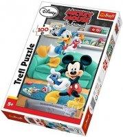 Puzzle 100 Trefl T-16291 Miki i Donald