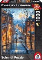 Puzzle 1000 Schmidt 59560 Evgeny Lushpin - Poranek w Montmartre